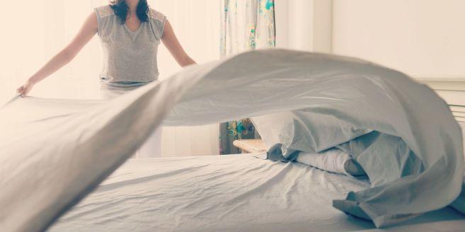 tender la cama